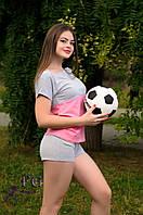 """Костюм летний из трикотажа """"Sport line"""" - распродажа"""