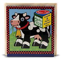 """Кубики """"Ферма"""", Melissa&Doug"""