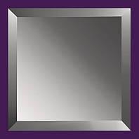 Плитка зеркальная с фацетом 15мм ПФГ 300*300 (графит) Украина UMT