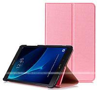 Чехол Slim Stand для Samsung Galaxy Tab A 10.1 2016 SM-T580, SM-T585 Pink + пленка