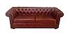 """Кожаный диван с креслом """"Граф САН-РЕМО"""" (3р+1), фото 2"""