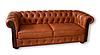 """Кожаный диван с креслом """"Граф САН-РЕМО"""" (3р+1), фото 3"""