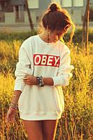 Женский свитшот кофта женская Obey Обей