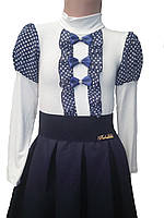 Блузка школьная, р.34,36,38.белая.осень