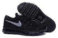 Мужские кроссовки Nike Air Max Flyknit All Black, фото 1