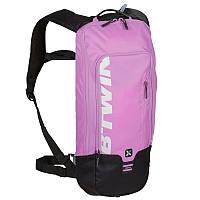 Велорюкзак с гидратором, рюкзак велосипедний Btwin 500 фиолетовый
