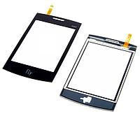 Оригинальный тачскрин / сенсор (сенсорное стекло) для Fly E322 (черный цвет)
