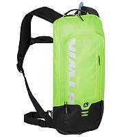 Велорюкзак с гидратором, рюкзак велосипедний Btwin 500 зеленый