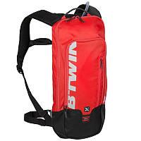 Велорюкзак с гидратором, рюкзак велосипедний Btwin 500 красный