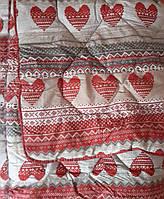 Одеяла с наполнителем из шерст в бязевом чехле