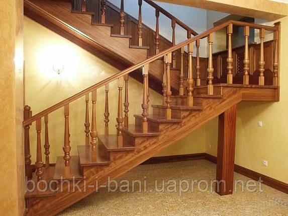 Лестница поворотная П-образная, фото 2