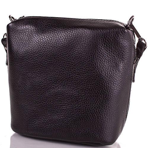 Черная женская кожаная сумка DESISAN (ДЕСИСАН) SHI1484-2FL