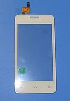 Оригинальный тачскрин / сенсор (сенсорное стекло) для Fly FS403 Cumulus 1 (белый цвет)