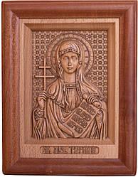 Ікона з дерева різьблене Святої Тетяни