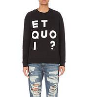 Женский свитшот кофта женская ET QUO I?