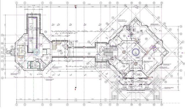 План с реконструкцией
