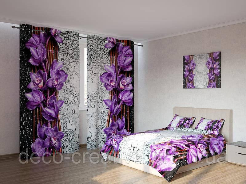 Фотокомплекты фиолетовые цветы