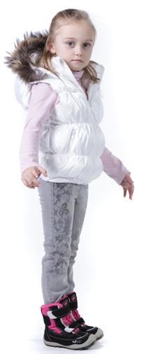 Детские и подростковые жилетки на девочек в каталоге Сенсорик
