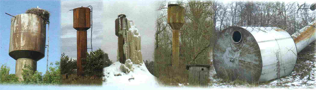 Результат влияния погодных условий, времени, и экономической сложности содержания на башню Ражновского