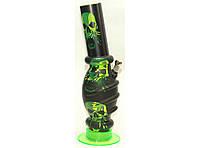Бонг акриловый (32 см) BG7-1, бонг для курения, бонг из акрила, трубка бонг для курения