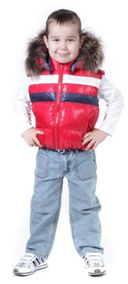 Детские и подростковые жилетки на мальчиков в каталоге Сенсорик
