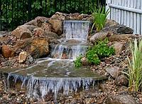 Декоративные водоемы и каскады