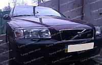 Реснички Вольво S80 ( накладки на передние фары Volvo S80)