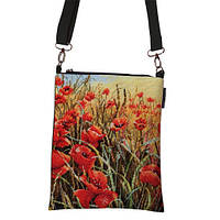 Женская сумка с маками