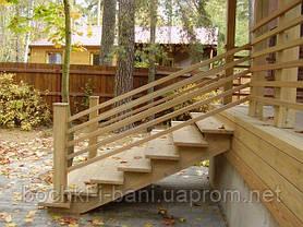 Наружные деревянные лестницы, фото 3