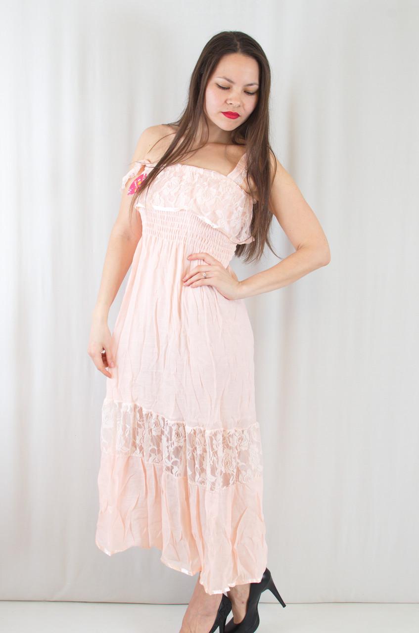 774a7ab87bb Летний красивый модный сарафан с кружевными вставками - Exclusive в  Хмельницком