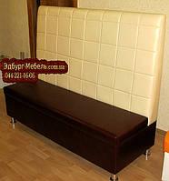 Высокие диваны в кубик для ресторанов-пиццерий, фото 1