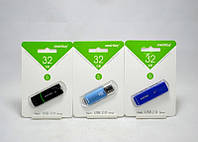 Флешка USB накопитель Smartbuy 32 GB, флеш накопитель 32 gb, usb флешка накопитель
