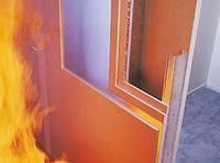 Огнестойкий гипсокартон12,5мм  KNAUF  Украина, доставка