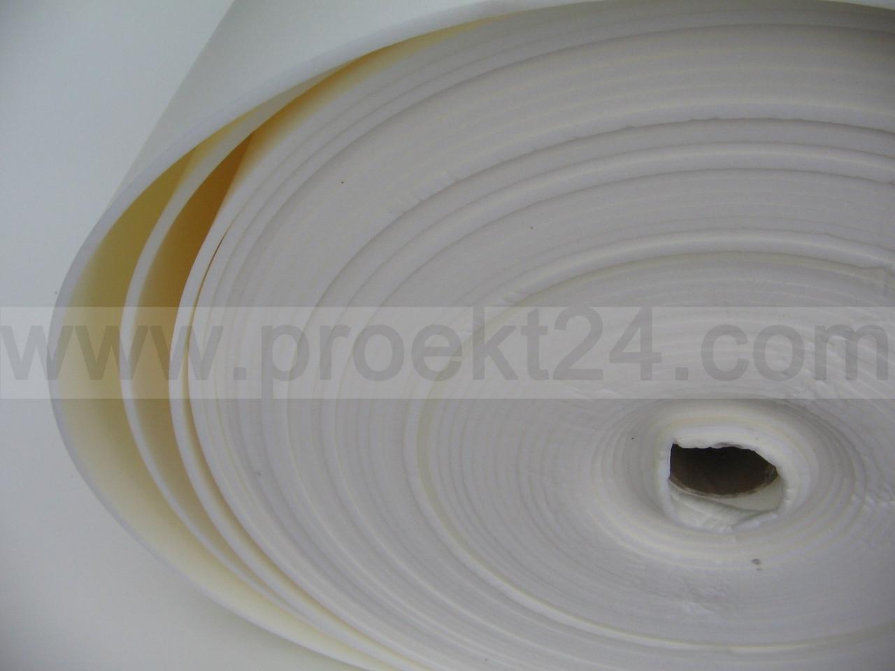 Подложка под ламинат, физически сшитый пенополиэтилен 2мм, 66 кг/м³