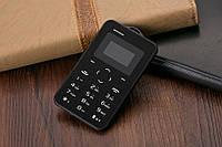 Aeku c6 ультратонкий мобильный телефон кредитная карточка