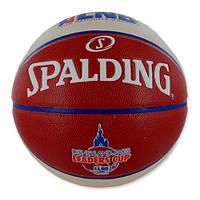 Баскетбольный мяч Spalding TF 1000 LNB Leaders Cup р. 7 (30 01512 01 0417)