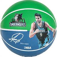 Баскетбольный мяч для стритбола Spalding Ricky Rubio р. 7 (3001586010517)