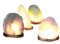 """Соляной светильник """"Скала"""" 5-6кг с цветной лампочкой"""
