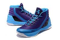 Баскетбольные кроссовки Under Armour Curry 3 blue