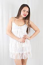 31221fbaea0 Летний красивый короткий белый кружевной сарафан  продажа