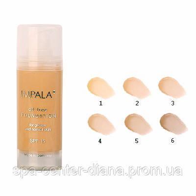 Лёгкий тональный крем для жирной и нормальной кожи, SPF 15, 30 мл IMPALA - 05 Светлый беж