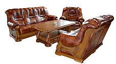 """Новый кожаный диван с креслом """"CHEVERNY"""" (3+1), фото 3"""