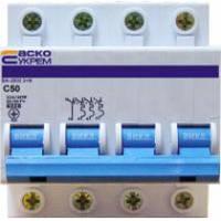 Автоматичні вимикачі АСКО 4-полюсні