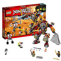 Lego Лего  Ninjago Ниндзяго Робот-спасатель 70592