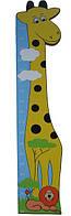 Детский настенный ростомер «Саванна», Funny Animals