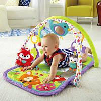 Музыкальный развивающий коврик Fisher-Price 3-in-1 Musical Activity Gym