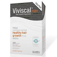 Витамины для волос для мужчин Viviscal Man, 180 таб. Сделано в Ирландии., фото 1