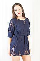 Красивая и нарядная блуза-туника с вышивкой