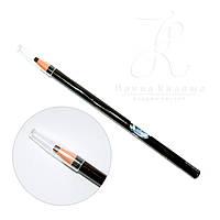 Разметочный карандаш черный, темно-коричневый, светло-коричневый, зеленый, серый