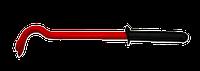 Лом-гвоздодёр 300мм шестигранный, прорезиненная ручка TECHNICS